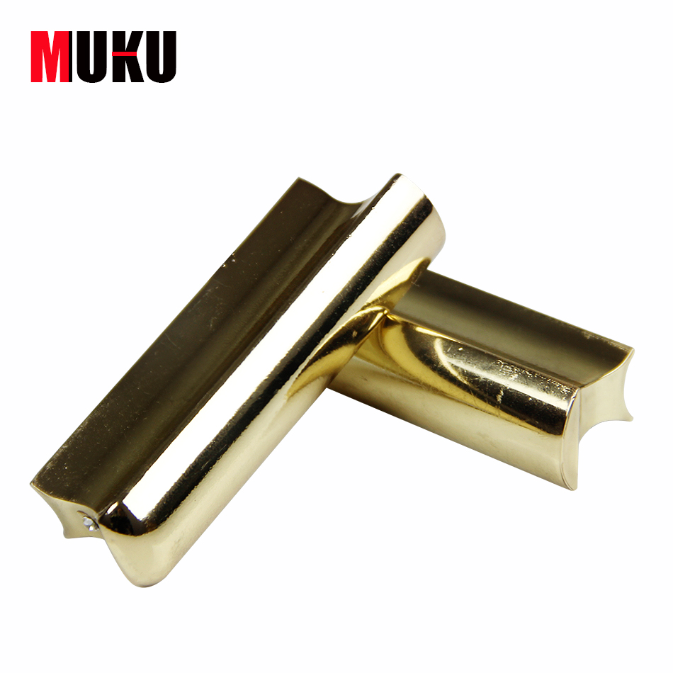 guitar accessories solid stainless steel tone bar guitar slide for hawian guitar gold in guitar. Black Bedroom Furniture Sets. Home Design Ideas