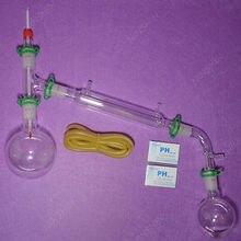 500 мл 24/29, дистилляционный аппарат, набор вакуумной дистилляции, лабораторное стекло