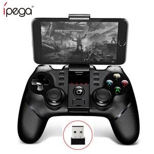 ZOMTOPIpega 9076 PG-9077 Bluetooth геймпад игровой коврик контроллер мобильный триггер джойстик для Android сотового смартфона ПК бесплатно