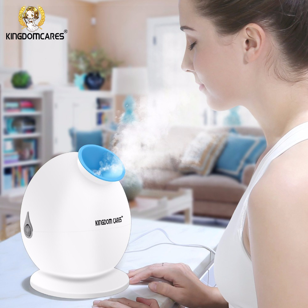 KINGDOM CARES Hot Mist Humidifier Sprayer Facial Steamer Moisturizing Pores Acne Mask Skin Cleansing Anti-acne Pimples KD-233 пенка uriage gyn phy intimate cleansing mist without rinsing