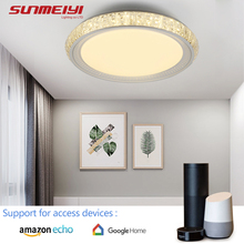 Intelligent Voice Control Modern LED Ceiling Lights For Living room Kids Bedroom WIFI Dimmable Lamp Dining