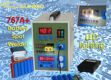 Free shipping 787A+MCU Battery Spot Welder machine Welding Machine Applicable Notebook and Phone Battery Precision Welding Pedal