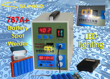 цена на Free shipping 787A+MCU Battery Spot Welder machine Welding Machine Applicable Notebook and Phone Battery Precision Welding Pedal