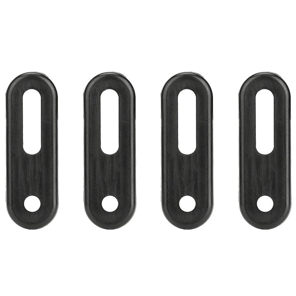 UTV 4pcs Black Door Latch Rubber Washer Strap Set For Yamaha RHINO 400 500 660 HISUN MASSIMO QLINK 400 500 700CC