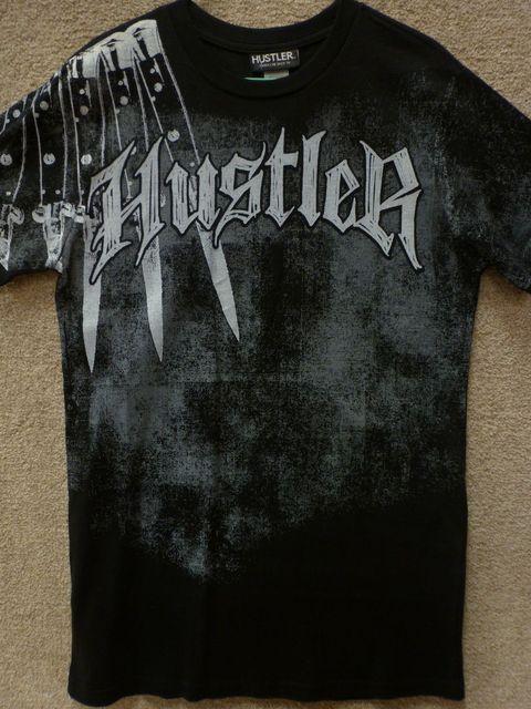 Hustler Männer T Shirt \