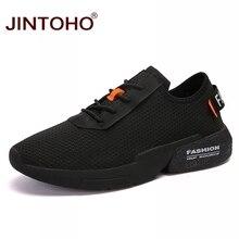 JINTOHO chaussures pour adulte, baskets à la mode pour hommes, en maille, décontractées, bon marché, collection chaussures décontractées respirantes