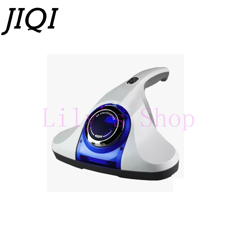 JIQI UV germicidal vacuum cleaner bed mites killing sterilization household Dust Mite Controller aspirator handheld dust catcher jiqi mini vacuum cleaner sweeper household powerful carpet bed mites catcher cyclone dust collector aspirator duster eu us plug