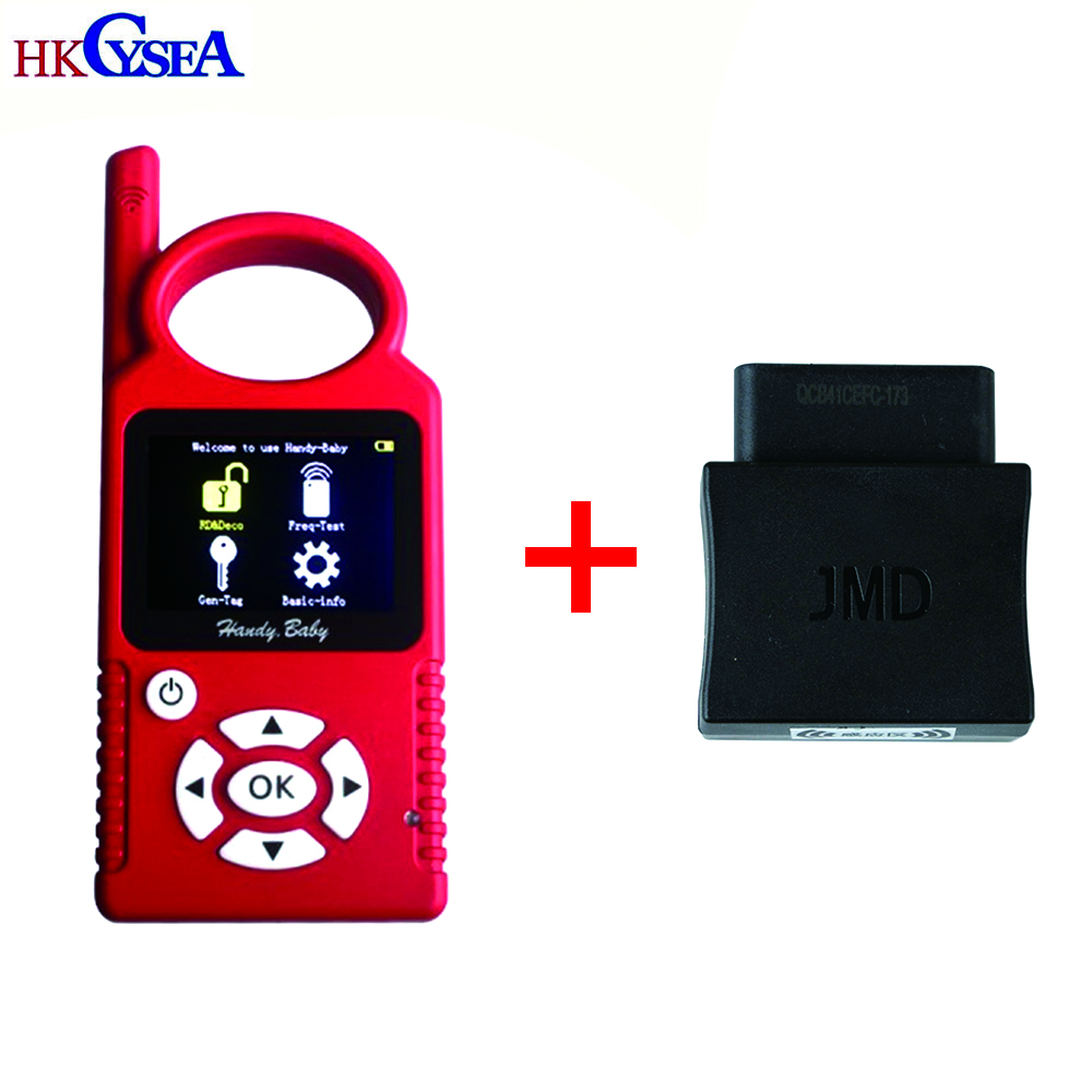 Newest V9 0 2 Handy Baby Hand held Auto Key Programme Plus JMD Assistant OBD Adapter