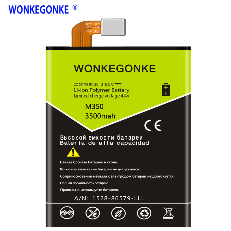 WONKEGONKE for DEXP Ixion M350 MS350 Rock Battery High quality mobile phone battery with tracking numberWONKEGONKE for DEXP Ixion M350 MS350 Rock Battery High quality mobile phone battery with tracking number