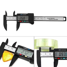 Digital Caliper 0-100mm/0.2mm Carbon Fiber Composites MM & Inch Caliper ALI88