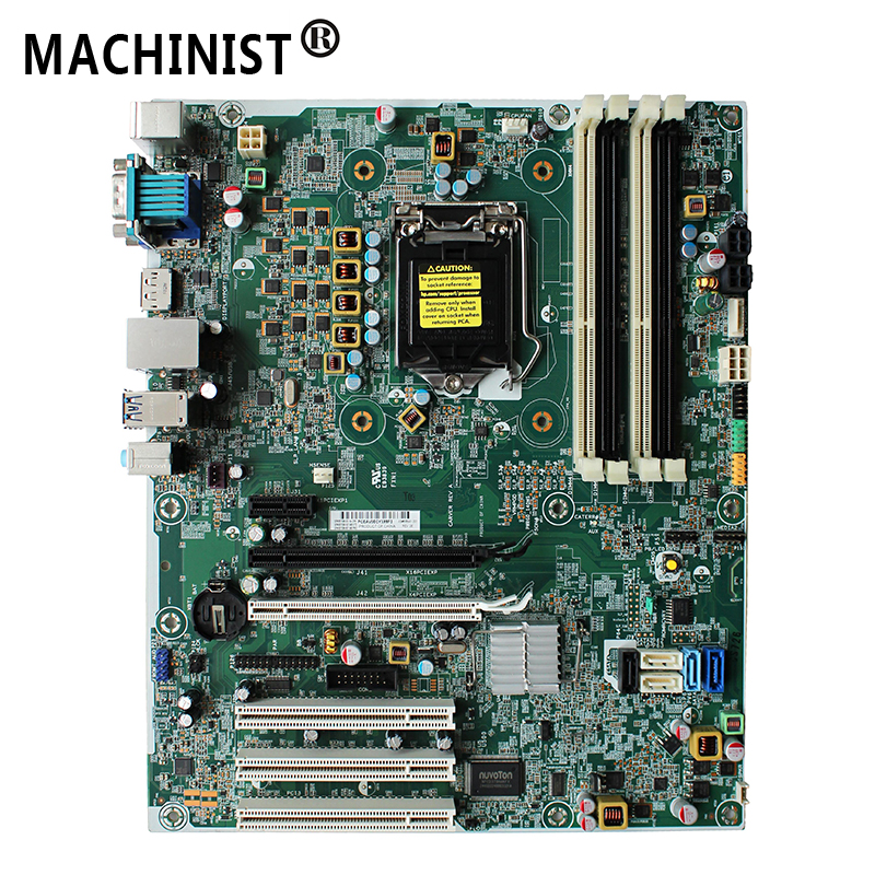 656941-001 Original For HP Elite 8300 MT Q77 desktop motherboard LGA1155 DDR3 657096-001 657096-501 657096-601 Free shipping