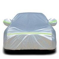 Auto Car cover Sewing car hood protective case Sun protection and rain Winter insulation Free shipping rain window shade sun
