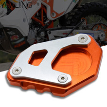 For KTM 1050 1090 1190 1290 Adventure super adventure R Orange Black CNC Aluminum Motorcycle Kickstand Side Stand Enlarge