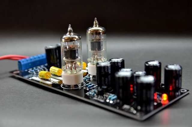 US $19 9 |1pc 6J1 Valve Pre amp Tube PreAmplifier Kit Assembled Board Audio  DIY-in Amplifier from Consumer Electronics on Aliexpress com | Alibaba