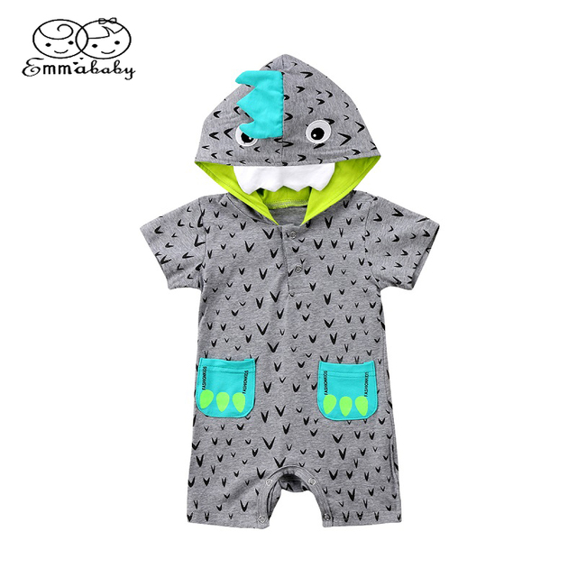 a92b20fc93e2 Emmababy Cos baby Clothes Newborn Infant Boy Short Sleeve Cotton ...