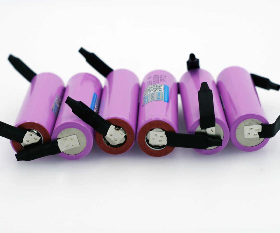 Varicore الأصلي المحمية 18650 بطاريات قابلة للشحن سامسونج icr18650-26f 3.7 فولت 2600 مللي أمبير الاستخدام الصناعي + diy نيك
