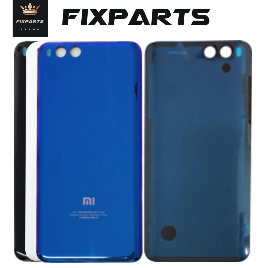 For Xiaomi Mi6 Battery Cover Back Housing Case For Xiaomi Mi 6 Rear Door Glass Panel For Xiaomi Mi 6 Battery Cover Replacement