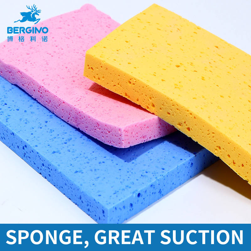 3Pcs/set Water Color Brush Sponge Magic Sponge Soft Watercolor/Gouache/Acrylic Painting Cleaning Tool Water Absorbent Sponge