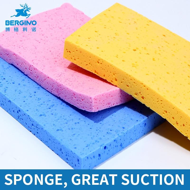 3Pcs/set Water Color Brush Sponge Magic Sponge Soft Watercolor/Gouache/Acrylic Painting Cleaning Tool Water Absorbent Sponge