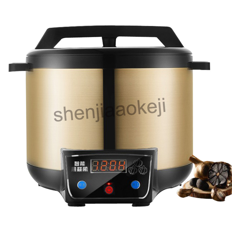 Stainless steel liner Intelligent black garlic machine Smart garlics making machine Black garlic fermentation machine 220v 1pcStainless steel liner Intelligent black garlic machine Smart garlics making machine Black garlic fermentation machine 220v 1pc