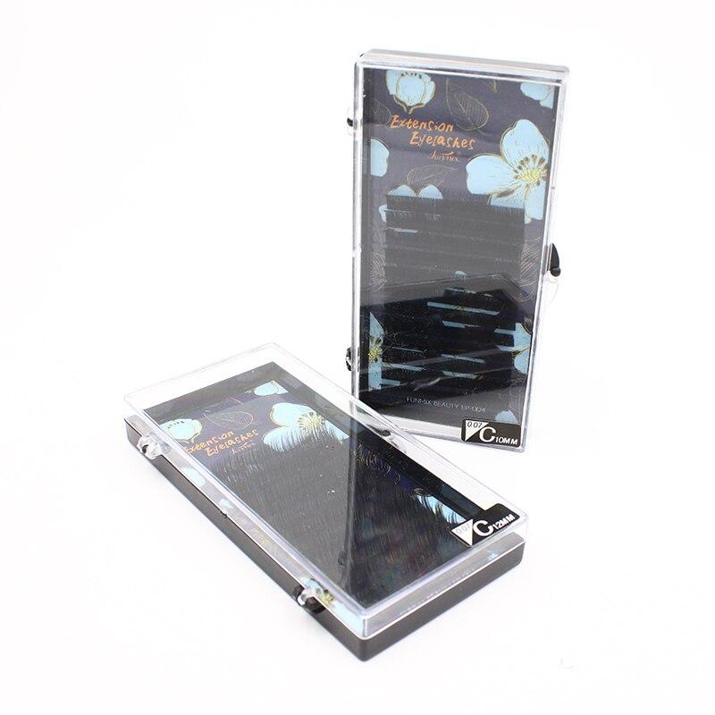 Premium 3D Silk Eyelash Extensions Individual False Mink Lashes B/C/D Curl Professional Makeup Tools