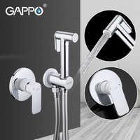 GAPPO Shower Faucets brass bathroom bidet toilet sprayer Bidet toilet washer mixer shower ducha higienico bidet spray