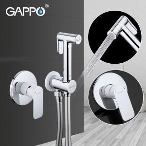 GAPPO Shower Faucets brass bathroom bidet toilet sprayer Bidet toilet washer mixer shower ducha higienico bidet spray(China)