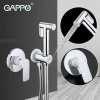 GAPPO grifos de ducha de latón baño bidet toilet bidet rociador toilet arandela mezcladora ducha higienico bidet spray
