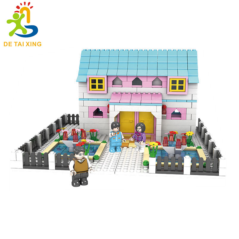 JDLT Hot Selling Friends Series Emma's House Building Blocks Classic For Girl Kids Model Toys Marvel Compatible Legoe 272-3 0367 sluban 678pcs city series international airport model building blocks enlighten figure toys for children compatible legoe