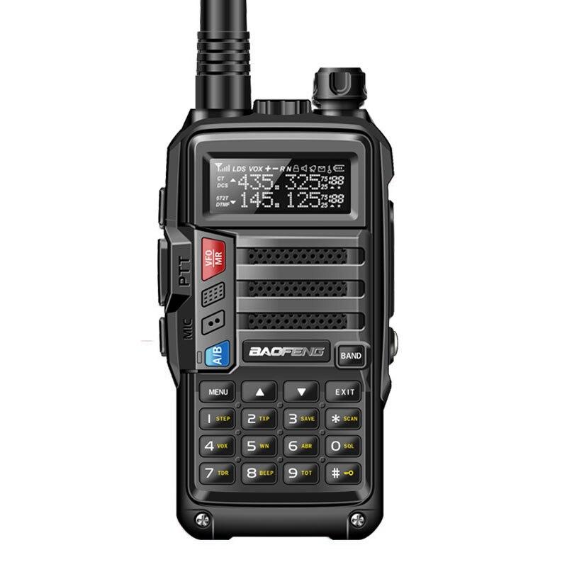 Image 2 - 2020 BaoFeng UV S9 High Power 8Watts Portable Walkie Talkie 10km  Long Range CB Radio Transceiver for Hunt Forest City Upgrade 5RWalkie  Talkie