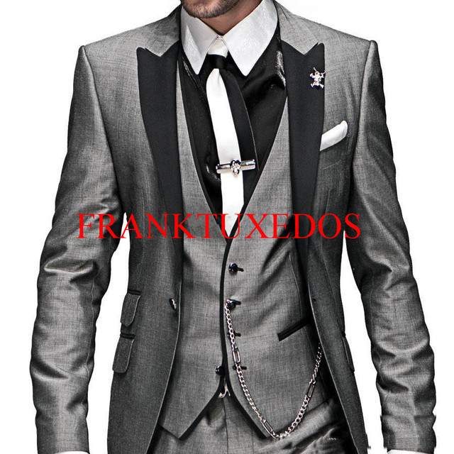 Aliexpress.com : Buy New style Men Suits Slim Custom Fit ...