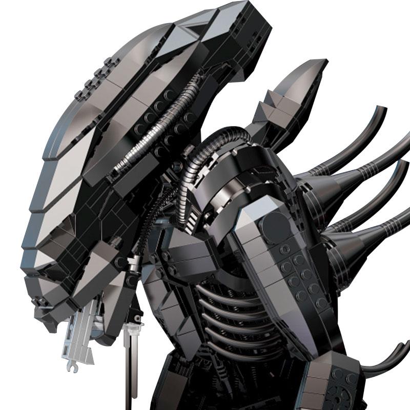 IN STOCK XINGBAO 04001 2020Pcs ความคิดสร้างสรรค์ภาพยนตร์ชุดหุ่นยนต์คนต่างด้าวชุดเด็กการศึกษาอิฐบล็อกของเล่น-ใน บล็อก จาก ของเล่นและงานอดิเรก บน   2