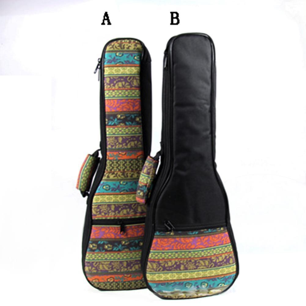 Saco de guitarra única alça ukulele mochila