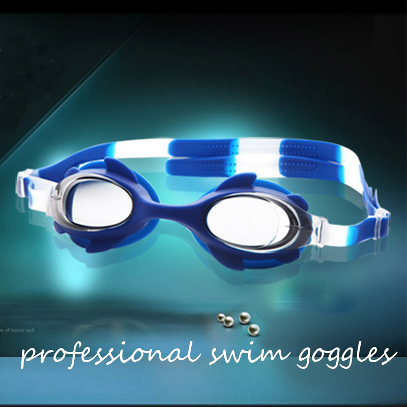 Swimming Pool Accessories Baby Swim Goggles Water Fog Transparent Diving Glasses Professional Swimming Training Equipment