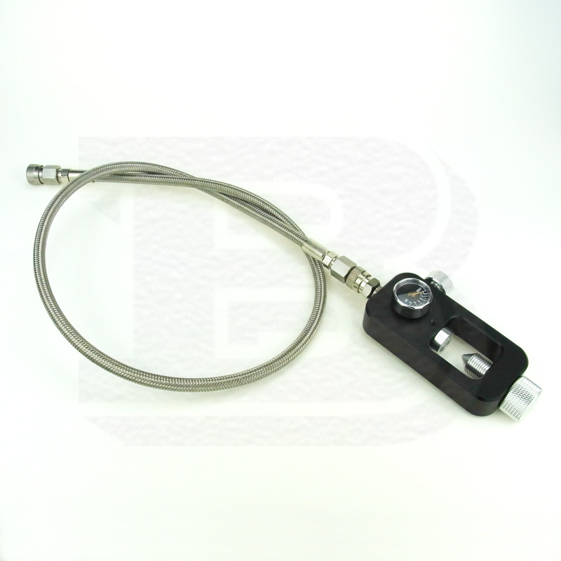New Paintball PCP Scuba Yoke Fill Station With High Pressure Stainless Steel Braided Whip Fill Hose