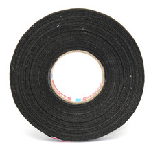 MTGATHER Natural Rubber Car Wiring Loom Harness Adhesive Cloth Fabric Black Tape Cable Loom Natural Rubber 9mm x 25M Best