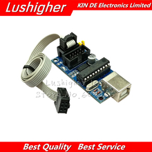 USBTiny USBtinyISP AVR ISP Programmer Bootloader IDE Meag2560 UNO R3 With 10pin Programming Cable One