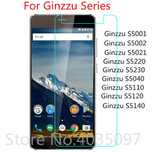 Tempered Glass for Ginzzu S5001 S5002 S5021 S5220 S5230 S5040 S5110 S5120 S5140 Screen Protector Film Protective Screen Cover(China)