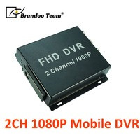 2CH 1080P car mobile SD DVR for fleet,shcoolbus,motorcycle use,Free shipping