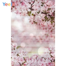 Yeele Jasmine Flowers Wood Board Glitter Photographic Backgrounds Professional Camera Photography Backdrops For The Photo Studio
