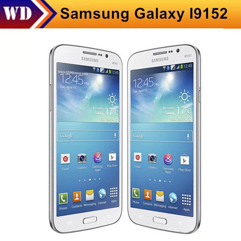 Цена за I9152 Оригинал Samsung Galaxy Mega 5.8 I9152 Мобильный Телефон 8 Г ROM 1.5 Г ОПЕРАТИВНОЙ ПАМЯТИ Dual core