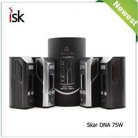 100% Original Lost Vape Skar DNA75 TC Mod DNA 75W Evolv Chip TC Box Mod Electronic Cigarettes Mods e-cigarettes Vape Mods