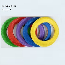 Cycling Colorful Tires 12*2.125 12 1/2 X 2 1/4 Bicycle Parts Electric Bike Bicycle Tyre 12 inch Color Tire 1pcs electric bicycle tires 2 25 14 2 50 14 2 75 14 inch electric motorcycle bicycle tire bike tyre whole sale use