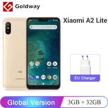"Global Version Xiaomi Mi A2 Lite 3GB RAM 32GB ROM Mobile Phone Snapdragon 625 Octa Core 5.84"" 19:9 Full Screen Dual AI Camera(Hong Kong,China)"