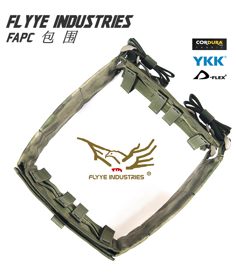 FLYYE MOLLE FAPC Additional plate carrier Tactical Vest Surround Military Tactical Vest VT-M014 flyye molle wsh chest rig military tactical vest vt c003