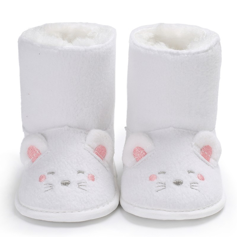Baby Winter Boots Infant Toddler Newborn Cute Cartoon Mouse Shoes Girls Boys First Walkers Super Keep Warm Snowfield Booties Boo