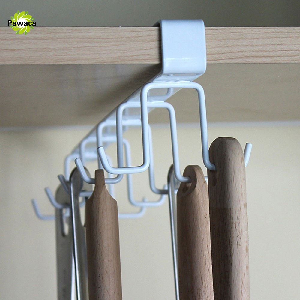 10 Hooks Kitchen Storage Rack Wardrobe Hanging Cup Of Coffee Organizer  Wardrobe Clothes Coat Rack Wardrobe Glass Mug Holder  In Storage Holders U0026  Racks From ...