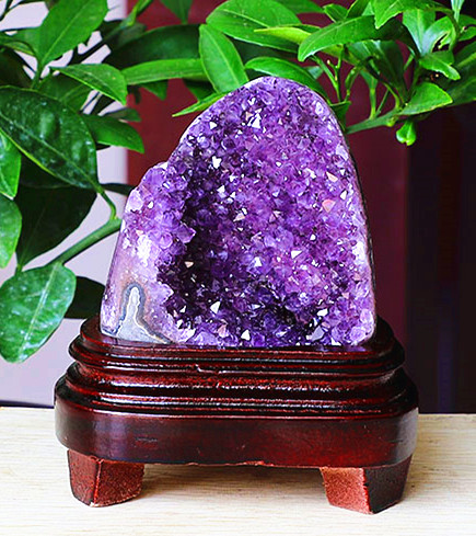 950 1000g Natural Uruguay amethyst cave raw stone home office living room crystal decorative gifts small ornaments