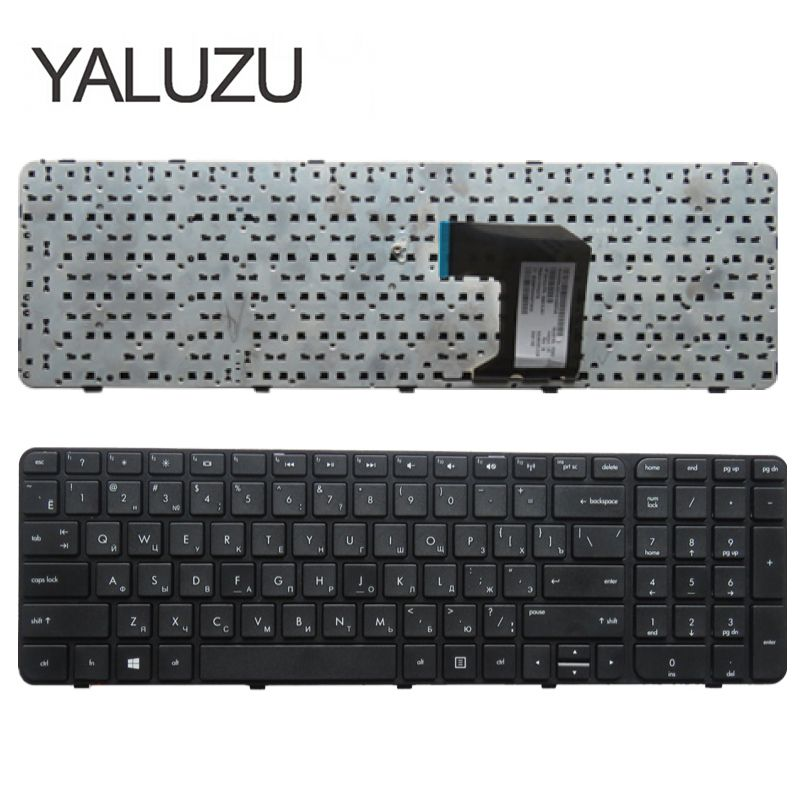 YALUZU RU Keyboard For HP Pavilion G7-2000 G7-2100 G7-2200 G7-2300 MP-11N13SU-920W AER39701110 699146-251 RU With Frame Russian