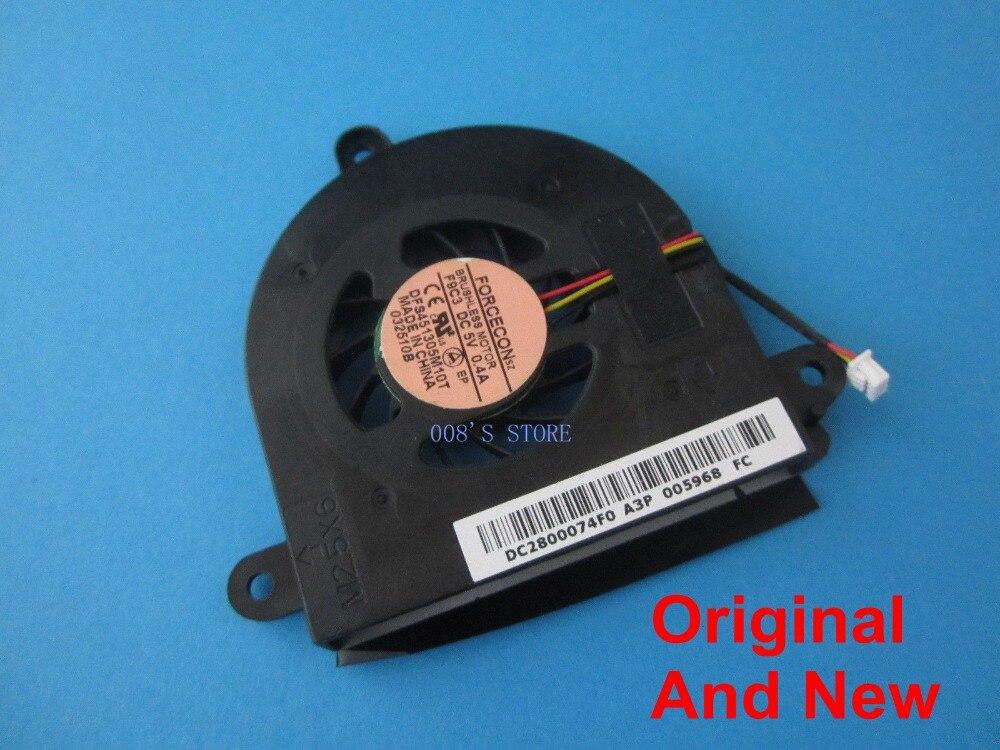 Новый охлаждающий вентилятор для ноутбука ACER Aspire 5534 5538 5538G F9C3 DFS451305M10T DC 5V 0.4A DC2800074F0